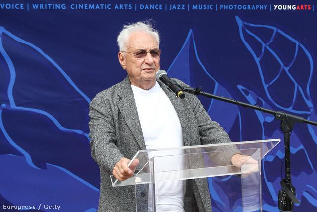 Frank Gehryre ezúttal nem tartottak igényt