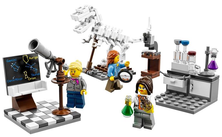 A most bemutatott Lego-lányok