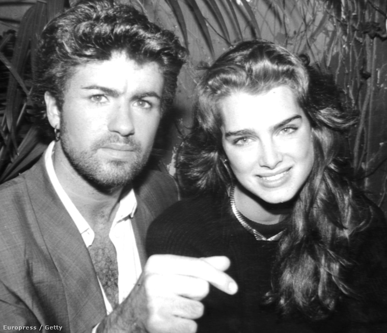 Brooke Shields és George Michael