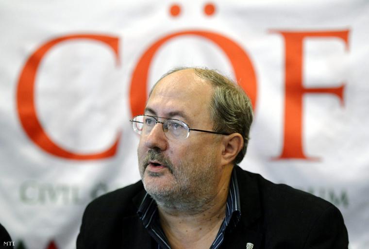 Fricz Tamás a Civil Összefogás Fórum (CÖF) alapítója