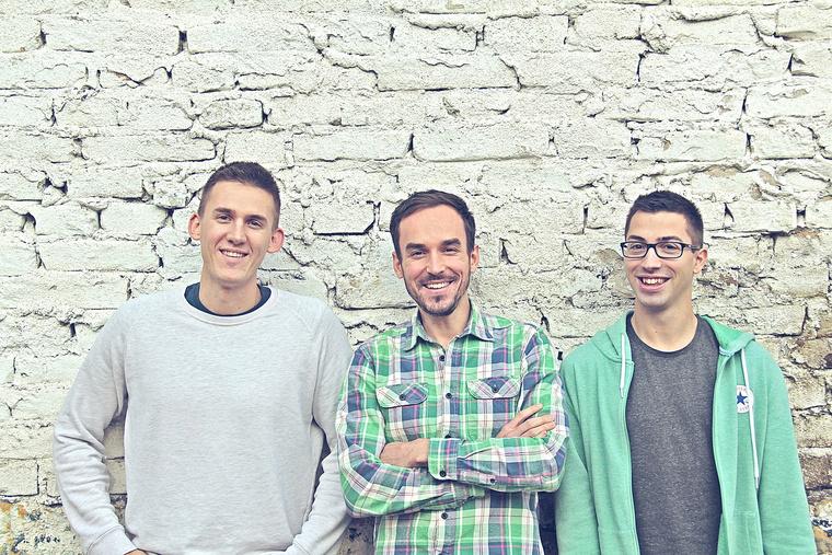 Team Ready:Vörös Gyula, Zsédely Balázs és Kindler András