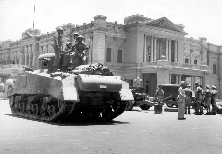 Szükségállapot Kairóban, 1952-ben