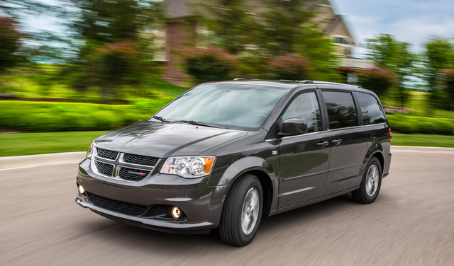Dodge Grand Caravan 2014 sajtógaléria