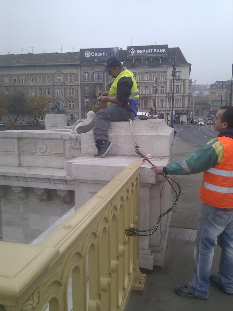 Kereszt a Margit hídon