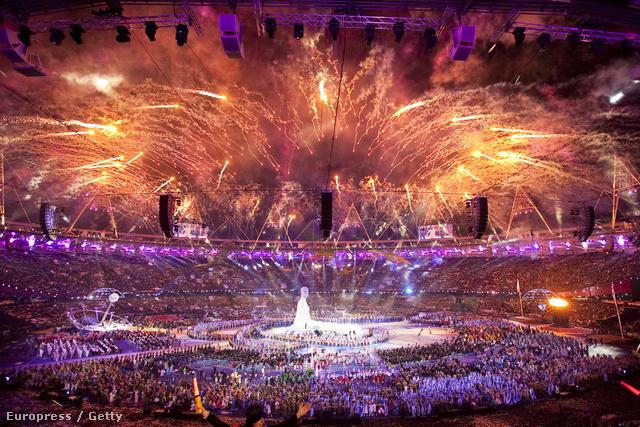 A 2012-es londoni olimpia megnyitója