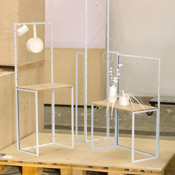 A Tajpejben született, de az eindhoveni Design Akadémián végzett Fabricia Chang bár egységes és rendezett paraméterekben gondolkodott, célja mégis az volt, hogy munkájával kitörjön az esztétikailag elfogadott bútorok köréből.