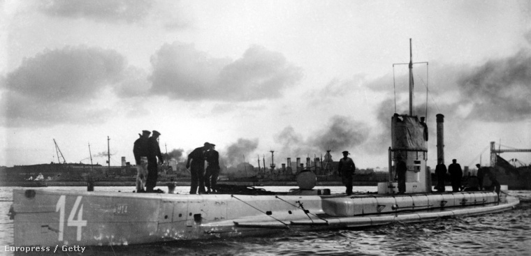 U14-es német tengeralattjáró