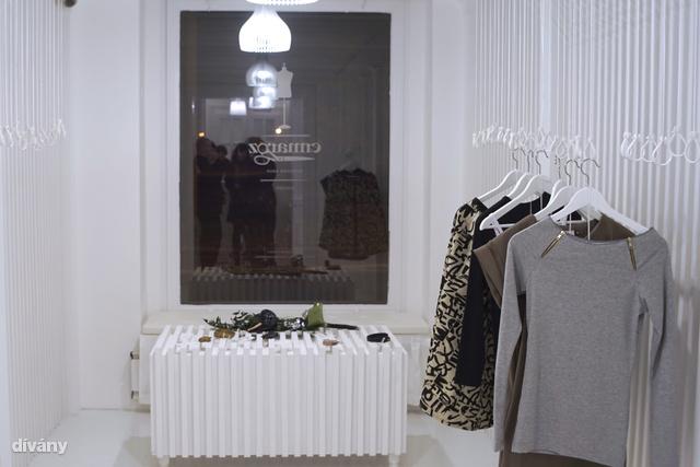Ez a helyiség a design bolt.