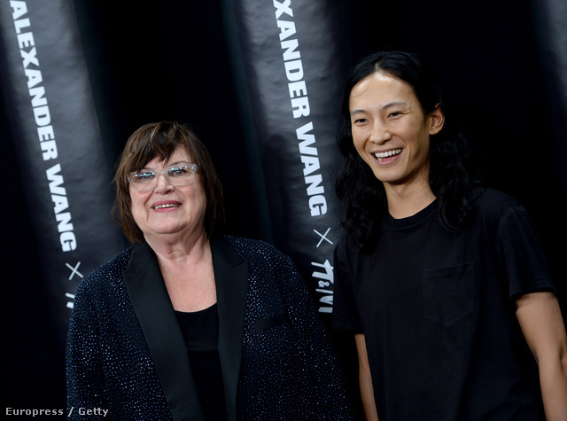 Margareta van den Bosch és Alexander Wang, a H&M 2014-es vendégtervezője