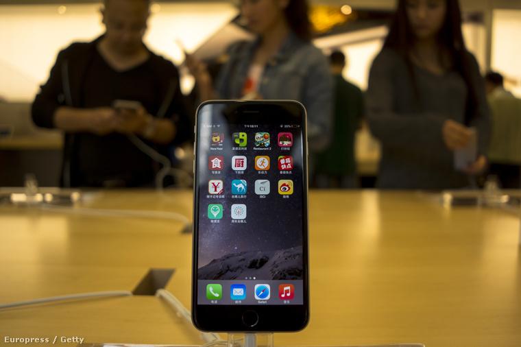 iPhone 6, zafírüveg nélkül