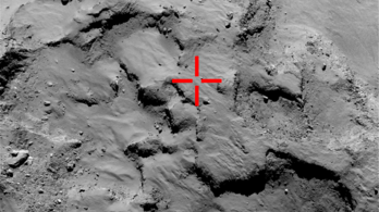 Ezzel a koppanással landoltunk az üstökösön