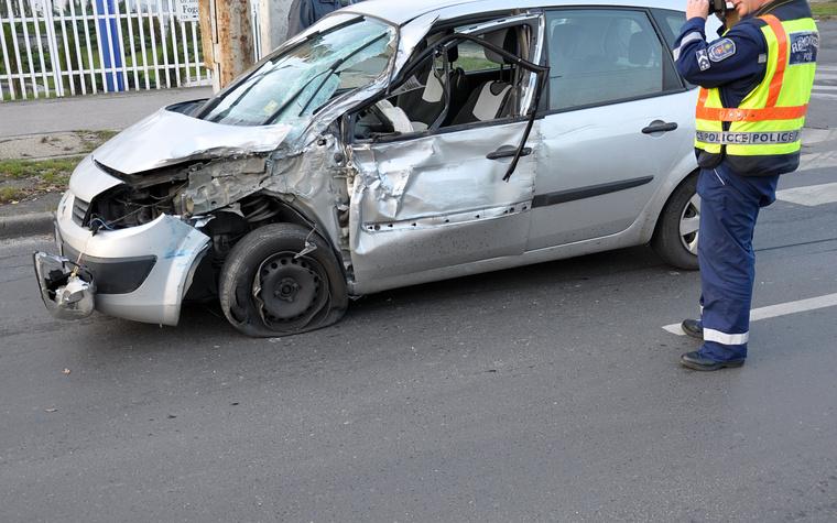 Fogarasi - Vezér út baleset 2