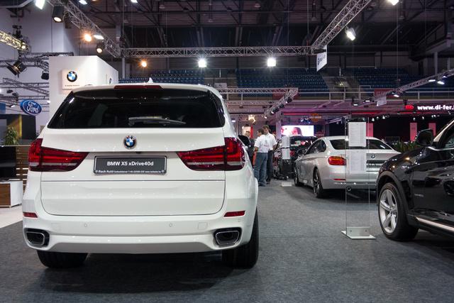 A BMW is nagy erőkkel van jelen