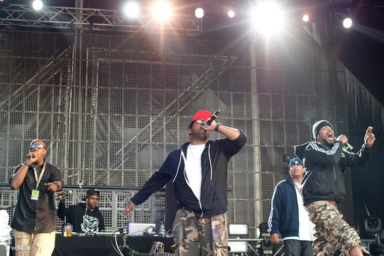 Wu-Tang Clan a Balaton Soundon 2013-ban