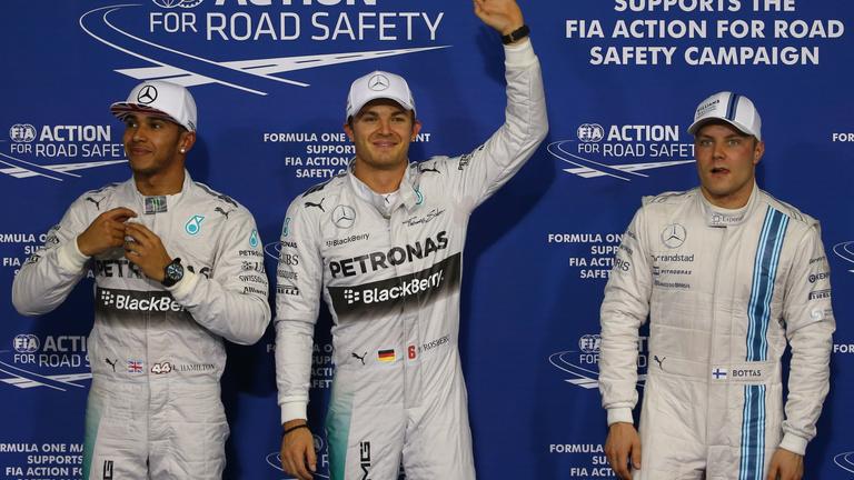 Rosberg megy a győzelemért, Hamilton a vb-ért