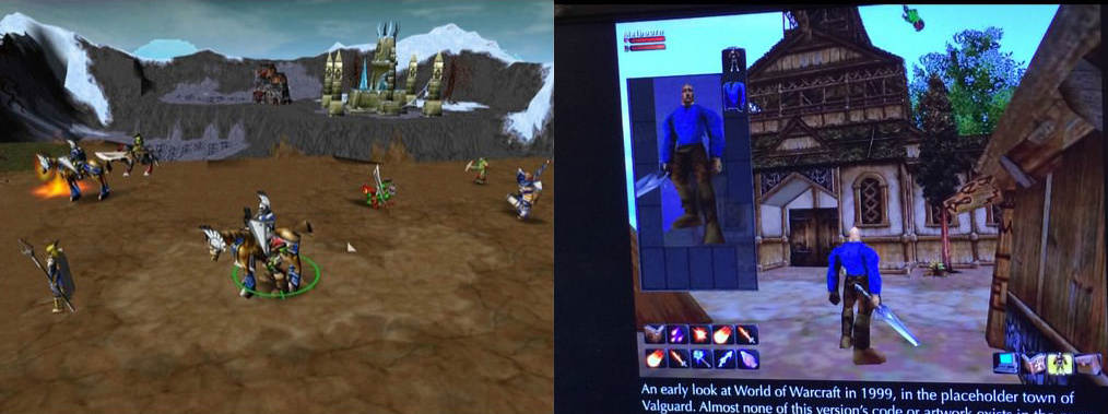 A wow Warcraft3 mod, és az önálló játék első verziója