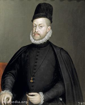 II. Fülöp spanyol király