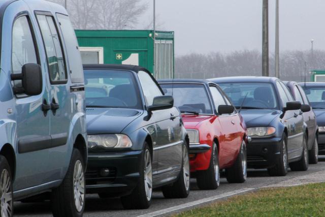 A mezőnyben tényleg mindenféle autó volt
