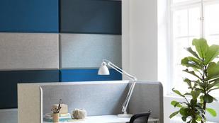 Hangelnyelő színes falakkal nem mennek egymás agyára a kollégáival