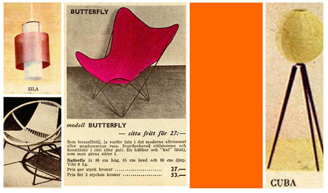 Így nézett ki egy Ikea katalógus az ötvenes években.