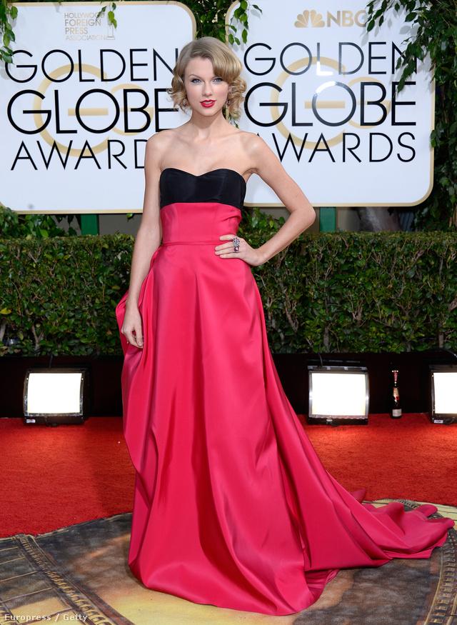 2014. január 12.: Cseles ruha a Golden Globe-on.