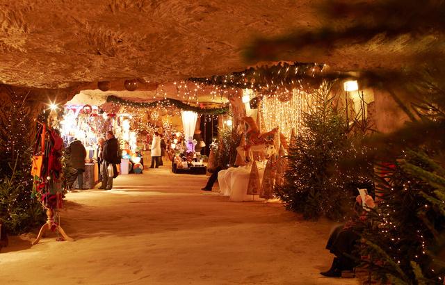 xmas market netherland grotte