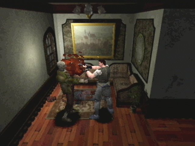 hyper mode resident evil screen