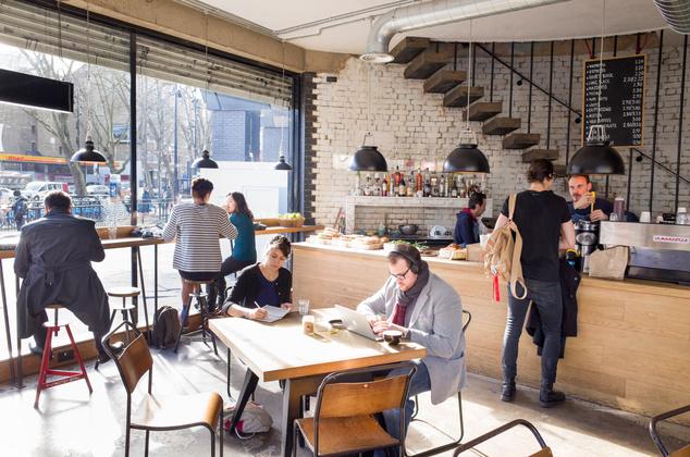 A shoreditch-i Grind Cafe