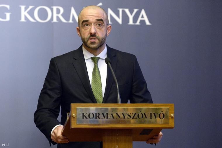 Kovács Zoltán kormányszóvivő