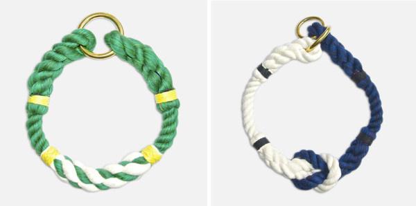Az 1996-ban alapított puerto ricói tervezőpáros nyakörvei akár karkötőnek vagy nyakláncnak is beillenének, annyira különlegesek.
