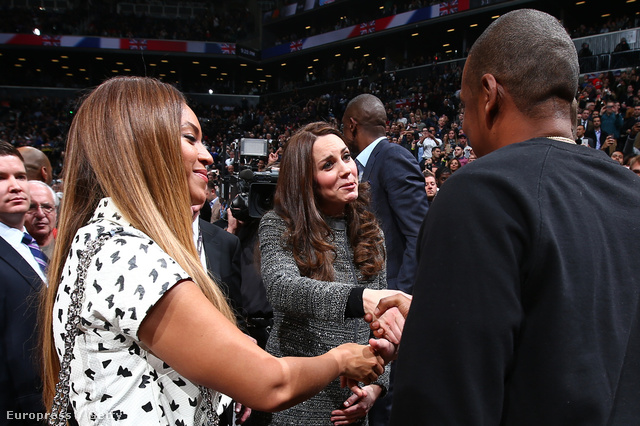 Katalin és Beyoncé, Vilmos és Jay-Z. Ez is megtörtént.