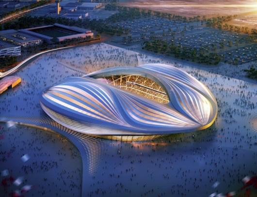A katari Dohában található stadion egyike annak az öt jelenleg építés alatt lévő stadionnak, amit a 2022-es labdarúgó-világbajnokságra építenek.