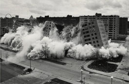 """A Missouri állambeli St.Louisban található lakótelepet a """"földi pokolként"""" hívták az ötvenes-hatvanas években Amerikában."""
