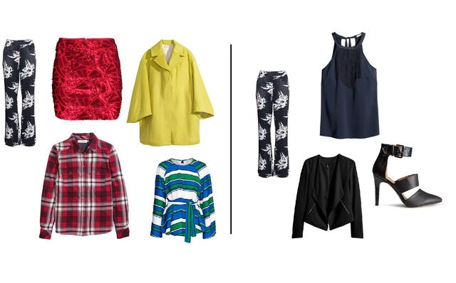 Ahelyett, hogy megpakolja szekrényét mindenfélével, nézze meg, mi illik a már meglévő ruhákhoz! (Minden ruha H&M)