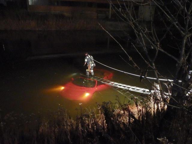 Ferrari a vízben :)