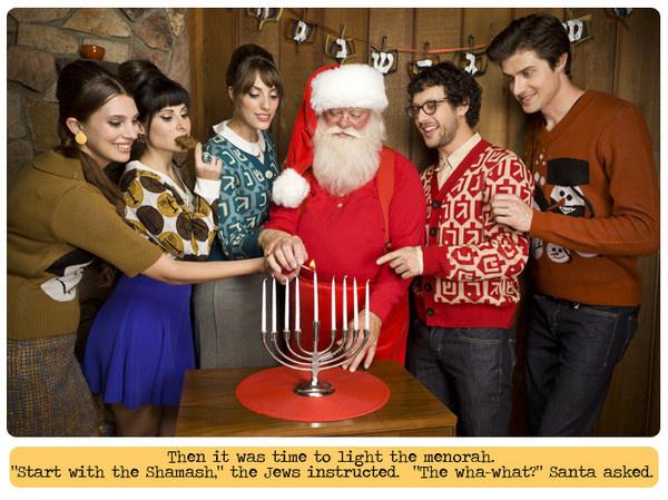 Míg a karácsony közeledtével sokan csúnyapulcsi gyártásba fognak, vagy épp a tavalyit mentik át az idei évre, addig az Amerikában élő Carin Agiman a zsidó karácsonyban, a hanukában, azaz a fények ünnepében látott fantáziát.
