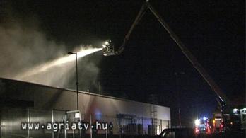 Kiégett a tésztagyár, hatalmas a kár