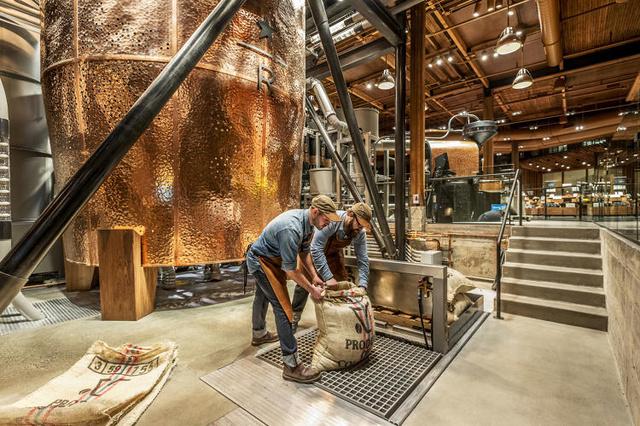 A vállalat új zászlóshajójában a tervek szerint közel egy millió kiló kávét pörkölnek, csomagolnak és főznek majd le évente.