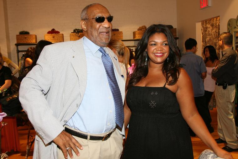 Bill Cosby és lánya, Evin