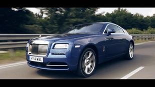 Száztíz milliót nem ér. Ilyen egyszerű. - Rolls-Royce Wraith