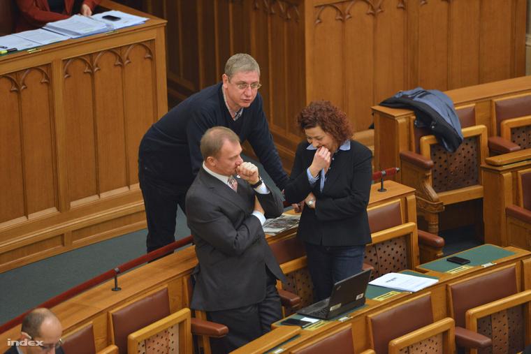 Gyurcsány Ferenc, Vadai Ágnes és Varju László