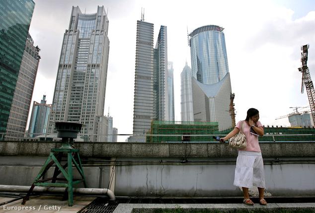Sanghajban telente nem szokott havazni, ezért volt szükség a témaparkra