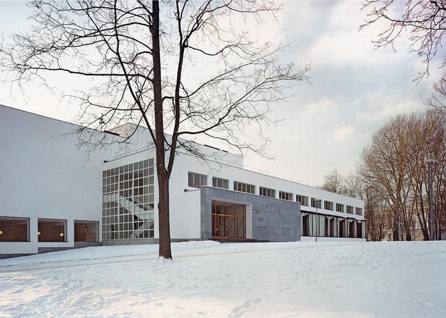Így decemberben átadták a 2014-es év legjobb modernista épületének járó díjat, mely a szakmai döntése alapján a finn építész, formatervező és várostervező, Alvar Aalto nemrég rekonstruált viipuri könyvtára lett.