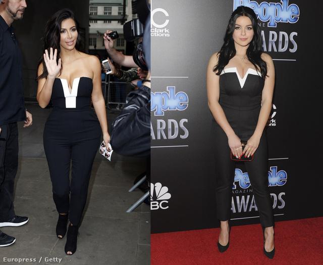 Kim Kardashian és Ariel Winter