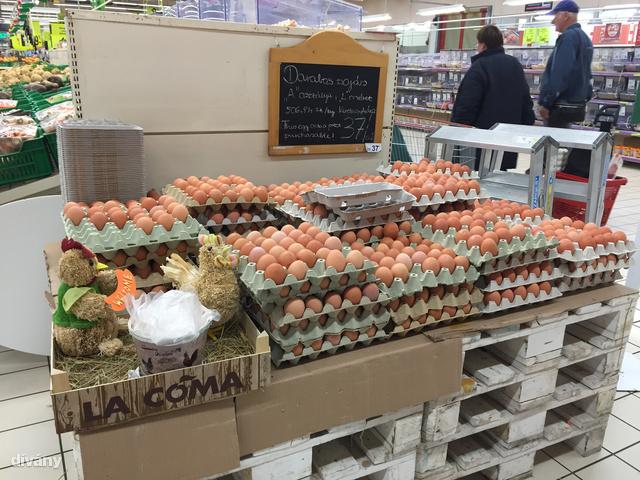 Teljesen rendezett és tiszta környezetben válogathatja össze a tojásokat. Abból lesz a La Coma, ahogy a doboz is mondja.