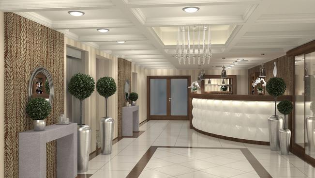 Lobby Fotó: Elixír Hotel