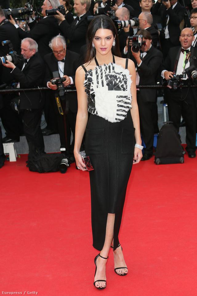 Nem tudjuk,hogy mit keresett a Cannes-i filmfesztiválon,de nem is fontos.Lényeg,hogy Chanelben ment végig a vörös szőnyegen.