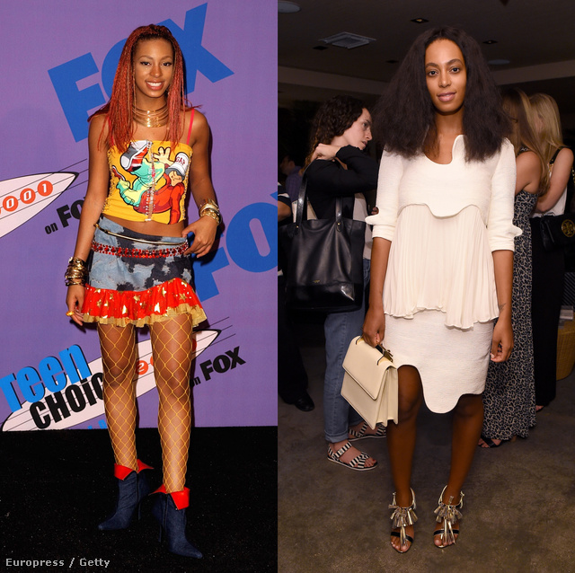 002 Solange Knowles 2001 2014