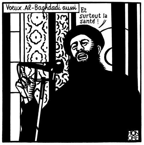 Al-Baghdadi kívánsága: fő az egészség.