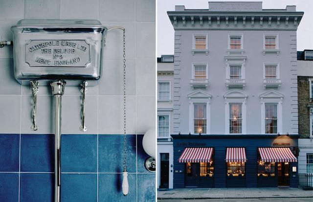 A Victoria pályaudvartól öt perc sétára található New Artist Residence névre keresztelt szálloda a város Pimlico negyedének egy 19.századi műemléképületében található.